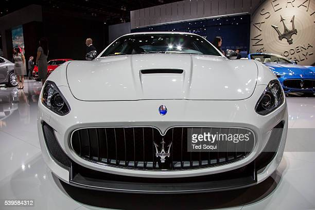 Maserati Gran Turismo Centennial Edition $182K USD features a 454 V8 motor and carbon fiber hood Hand built in Italy The 2015 Los Angeles Auto Show...