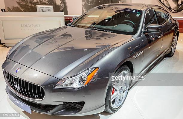 maserati quattroporte photos et images de collection getty images. Black Bedroom Furniture Sets. Home Design Ideas