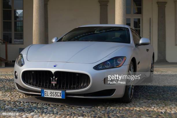 Maserati Supercar and luxury sports car on exhibition during Turin Car Show