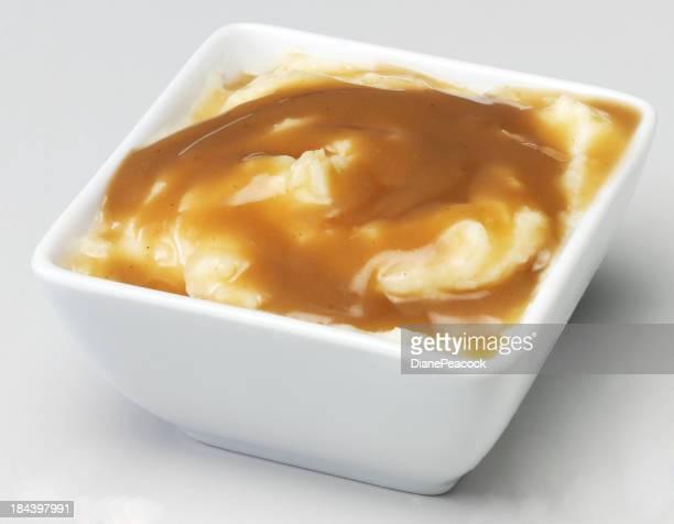 Mash and gravy