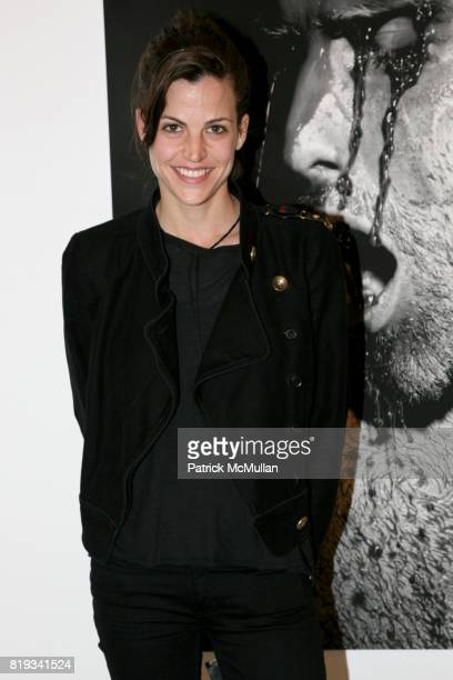 Masha attends 'The Transformation of ENRIQUE MIRON as El Diablo' by PAUL ROWLAND at 548 W 22nd St on April 29 2010 in New York