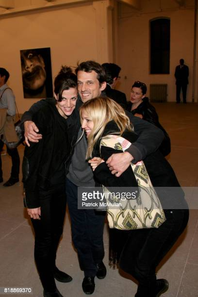 Masha Guest and Nata Shavojnovic attend 'The Transformation of ENRIQUE MIRON as El Diablo' by PAUL ROWLAND at 548 W 22nd St on April 29 2010 in New...