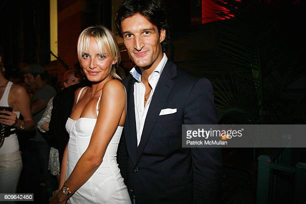 Masha Markova and Rafael Medina attend PRADA New York Epicenter Party with Special Performance by THE HOURS at PRADA Soho on September 7 2007 in New...