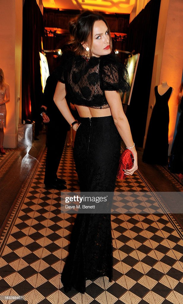 Masha Markova attends The Jasmine Ball in aid of UNICEF's Children of Syria Emergency Appeal at One Mayfair on March 7, 2013 in London, England.