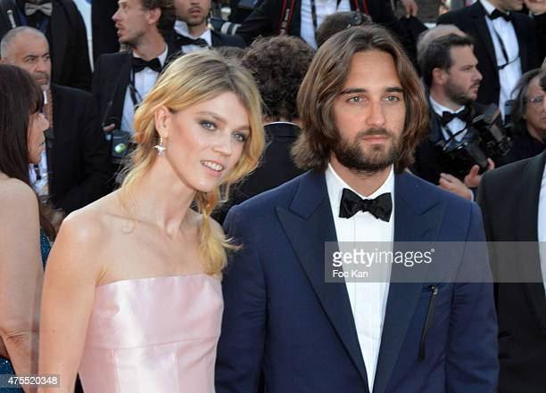 Masha Rassam and Dimitri Rassam attend the Premiere of 'The Little Prince' during the 68th annual Cannes Film Festival on May 22 2015 in Cannes France