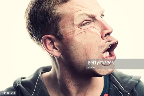 Écrasé le visage