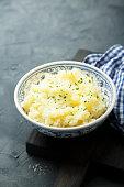 Homemade potato mash