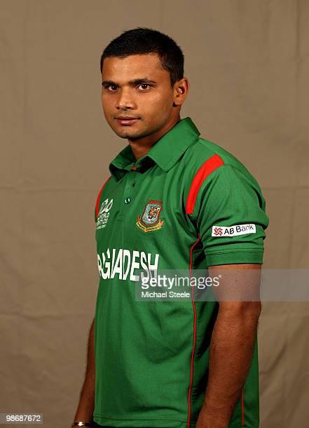 Mashrafe Mortaza of Bangladesh T20 squad on April 26 2010 in Bridgetown Barbados