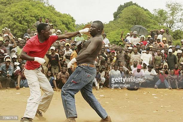 venda fist fighting