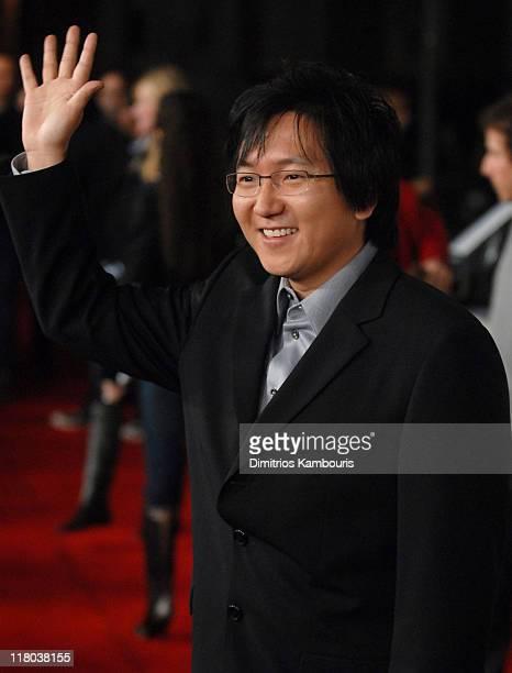 Masi Oka during 6th Annual GM Ten Red Carpet at Paramount Studios in Los Angeles California United States