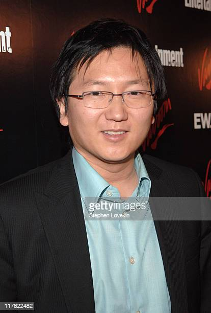 Masi Oka during Entertainment Weekly/Vavoom 2007 Upfront Party Red Carpet at The Box in New York City New York United States
