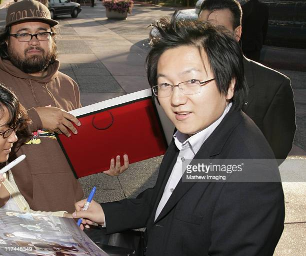 Masi Oka during The Academy of Television Arts and Sciences Presents An Evening with 'Heroes' Red Carpet at Leonard H Goldenson Theatre in North...