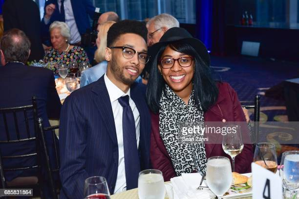 Masia Carlotti and Jhane Eason attend The Boys' Club of New York Annual Awards Dinner at Mandarin Oriental Hotel on May 17 2017 in New York City