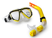 mask and snorkel for scuba diving