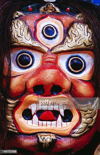 Mask for sale in shop at Winter Palace of Bogd Khaan.