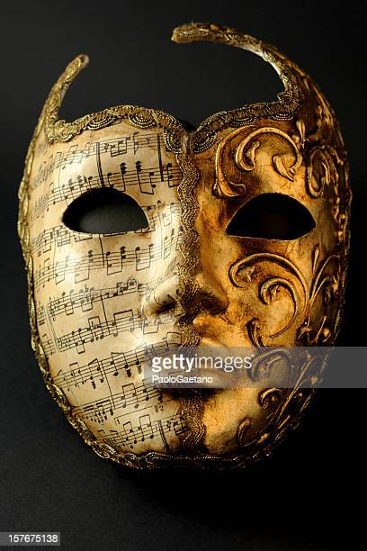 A mask from the carnival in Venice