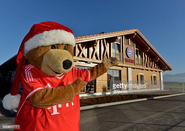 bayern mascot berni stock photos and pictures getty images. Black Bedroom Furniture Sets. Home Design Ideas