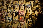 Masks at Venice's winter carnivale