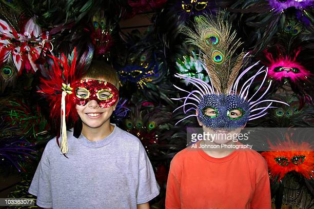 Masks in New Orleans