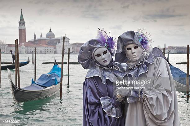 Masks in Venice's Carnival