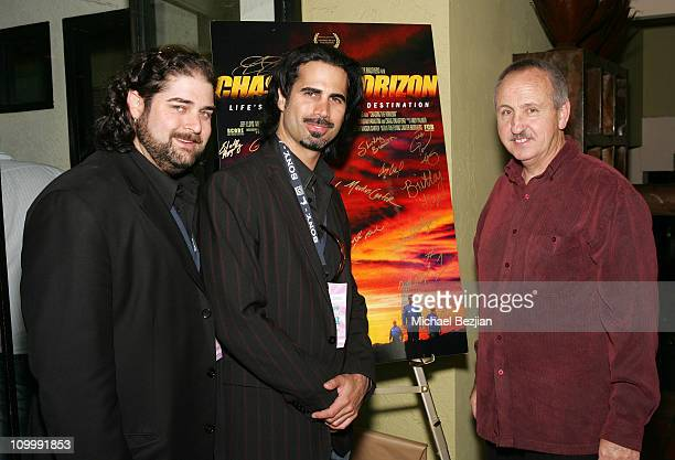Mason Canter Markus Canter and Dominic Clark during 2006 Newport Beach Film Festival Chasing The Horizon Premiere and After Party at Lido Theater...