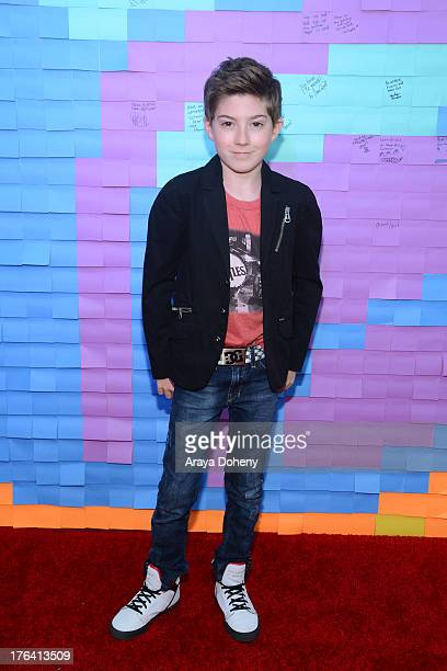 Mason Cook attends Teen Choice Awards After 'Party' For A Cause Hosted by Boys Girls Clubs of America and Staples at Saddle Ranch on August 11 2013...