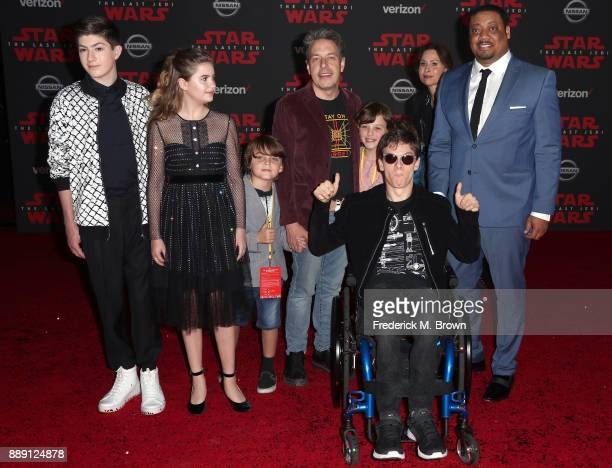 Mason Cook Kyla Kenedy John Ross Bowie Micah Fowler Minnie Driver Cedric Yarbrough and guests attend the premiere of Disney Pictures and Lucasfilm's...
