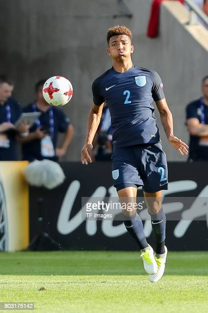 Mason Holgate of England in action during the 2017 UEFA European Under21 Championship match between Slovakia and England on June 19 2017 in Kielce...