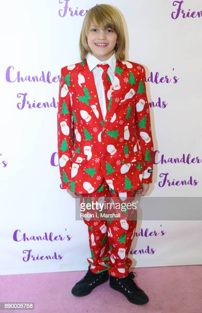 Mason McNulty attends Chandler's Friends Toy Drive And Wrapping Party at Los Angeles Ballet Academy on December 10 2017 in Encino California
