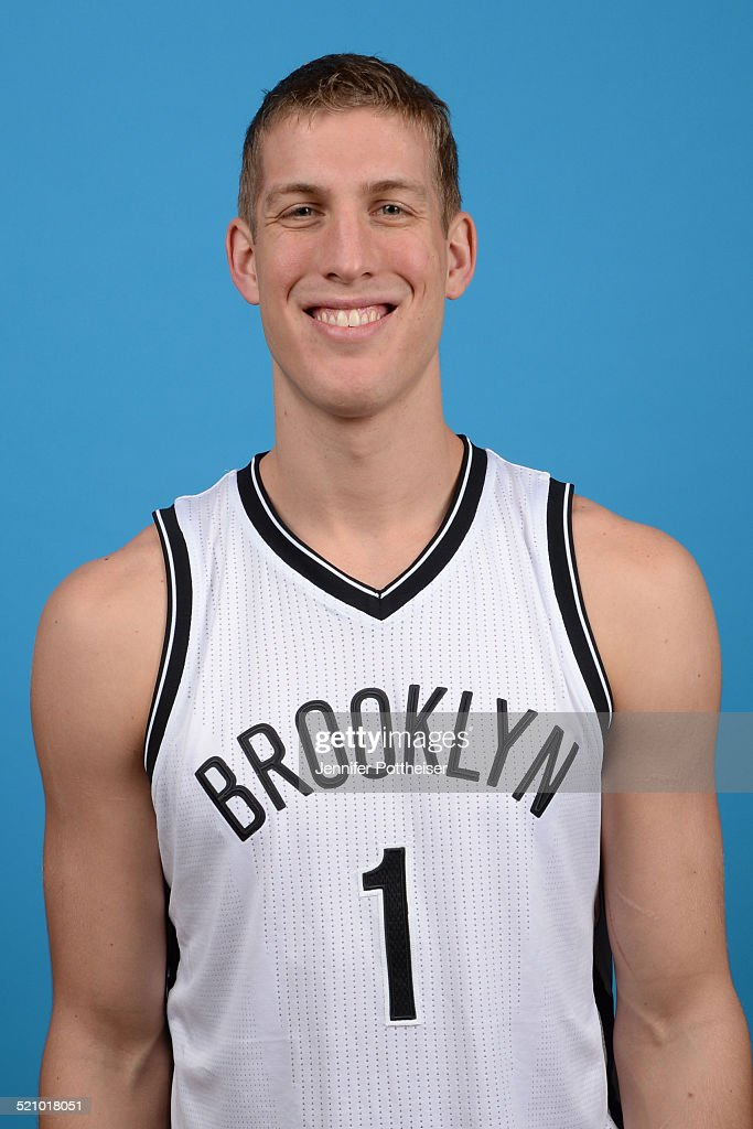 <a gi-track='captionPersonalityLinkClicked' href=/galleries/search?phrase=Mason+Plumlee&family=editorial&specificpeople=5792012 ng-click='$event.stopPropagation()'>Mason Plumlee</a> #1 of the Brooklyn Nets poses for a portrait during media day on September 26, 2014 at the PNY Center in East Rutherford, New Jersey.