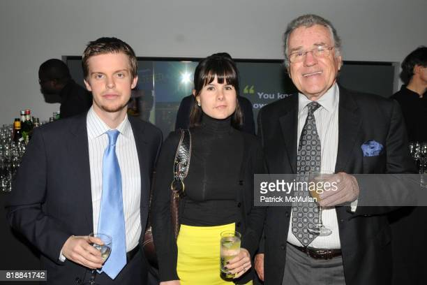 Mason Sexton Jr Dana Kanze and Charles Johnston attend TIME INC Live and Unfiltered Presents ROUGH JUSTICE Hosted by FORTUNE at Time and Life...