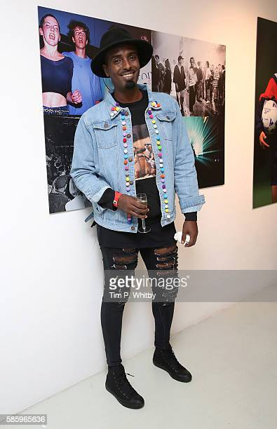 Mason Smillie attends the Reebok Classic 90's Collection Event on August 4 2016 at Rook and Raven Gallery in London England Anais Gallagher debuts...