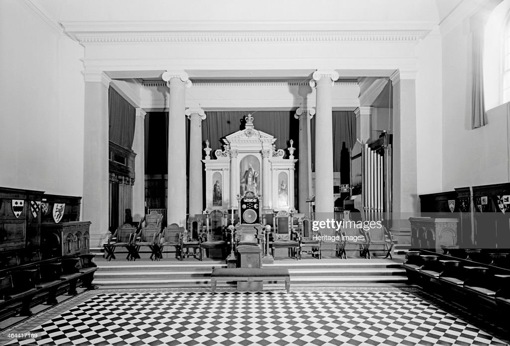 Masonic Hall Old Orchard Street Bath 1999 An interior view of the main temple of the Masonic Hall in Old Orchard Street in Bath The Hall was...