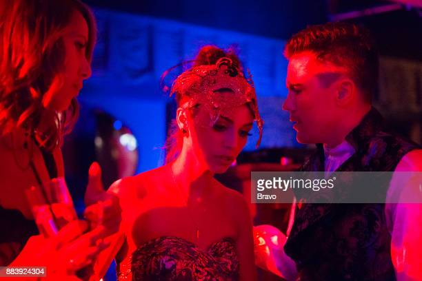 RULES 'Masquerade' Episode 601 Pictured Kristen Doute Scheana Marie Tom Sandoval