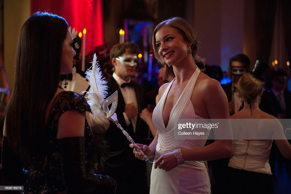 REVENGE - 'Masquerade' - Hamptonites celebrate Halloween with a glamorous masquerade ball hosted by the Graysons, which is a perfect setting for Emily to drag out Victoria's skeletons. Jack steps up his revenge plan and finds an unexpected ally, and Aiden makes a bold move with a gruesome conclusion, on 'Revenge,' SUNDAY, MARCH 31 (9:00-10:01 p.m., ET), on the ABC Television Network. VANCAMP