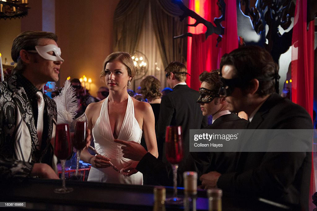 REVENGE - 'Masquerade' - Hamptonites celebrate Halloween with a glamorous masquerade ball hosted by the Graysons, which is a perfect setting for Emily to drag out Victoria's skeletons. Jack steps up his revenge plan and finds an unexpected ally, and Aiden makes a bold move with a gruesome conclusion, on 'Revenge,' SUNDAY, MARCH 31 (9:00-10:01 p.m., ET), on the ABC Television Network. WECHSLER