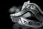 Masquerade venetian carnival mask