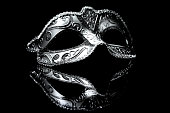 Masquerade venitian carnival mask