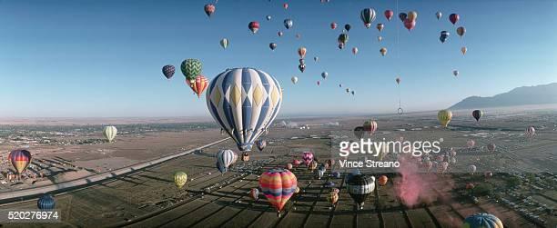 Mass Ascension at Albuquerque Balloon Fiesta