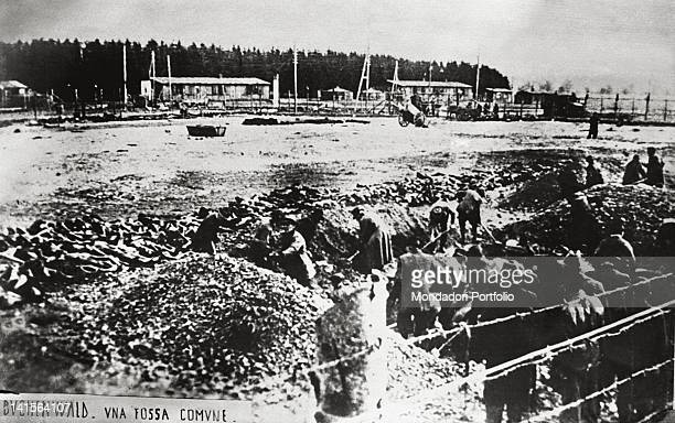 A mass grave in Buchenwald Between 1937 and 1945 Buchenwald was one of the main Nazi concentration and death camps on the German territory