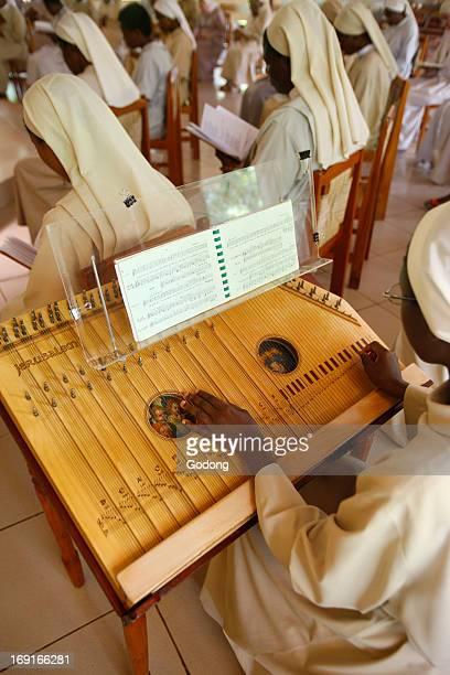 Mass in Akatepate catholic monastery