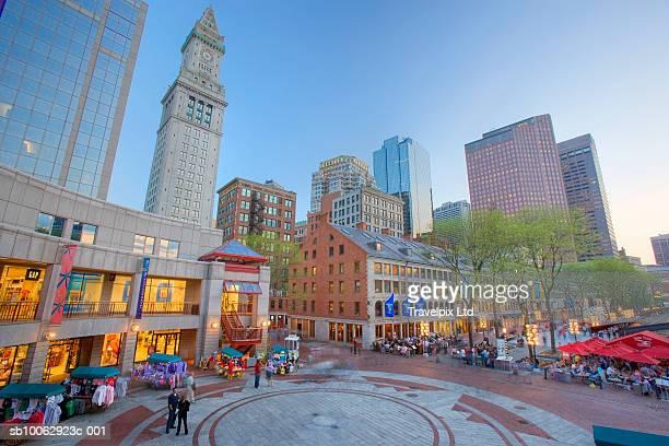 USA, Massachusetts, Boston, Quincy Market