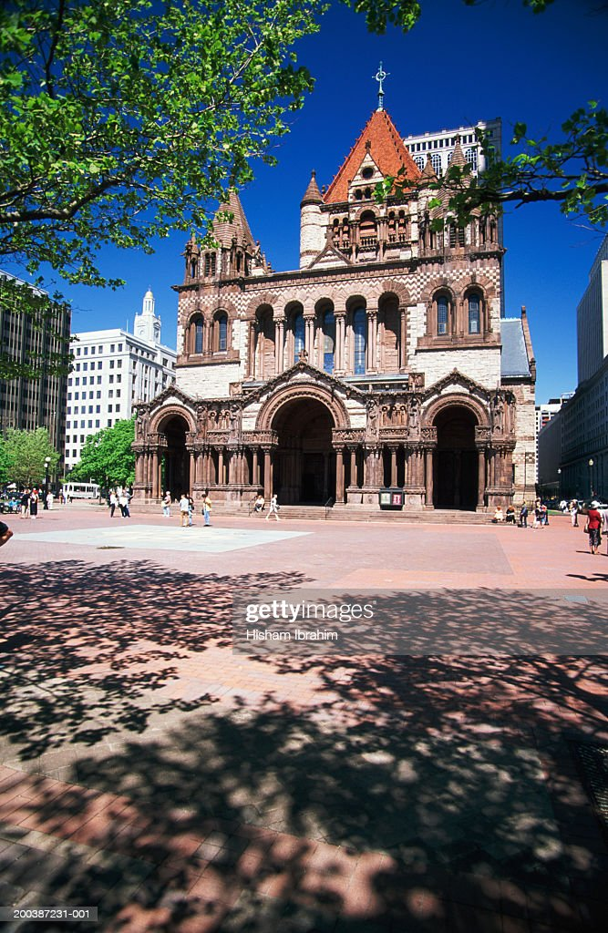 Usa Massachusetts Boston Trinity Church Foto de stock | Getty Images