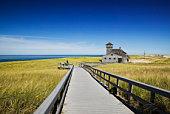 USA, Massachusetts, Cape Cod, Provincetown, Race Point Beach, Old Harbour Life Saving Museum