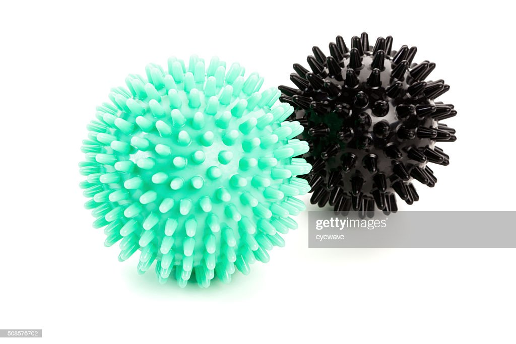 Massage balls isolated : Stock Photo