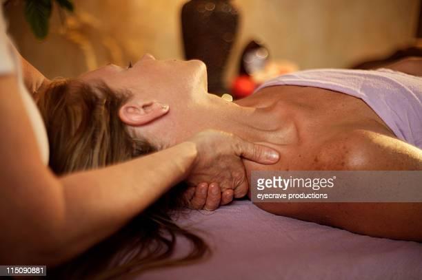 Terapia de massagem spa cuidados