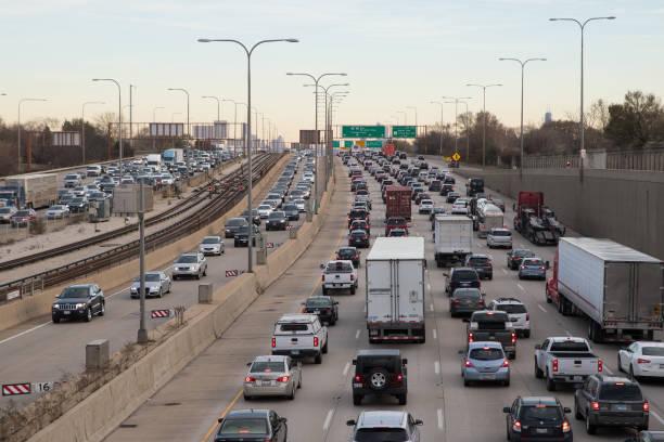 Photos et images de Traffic jam in Chicago   Getty Images