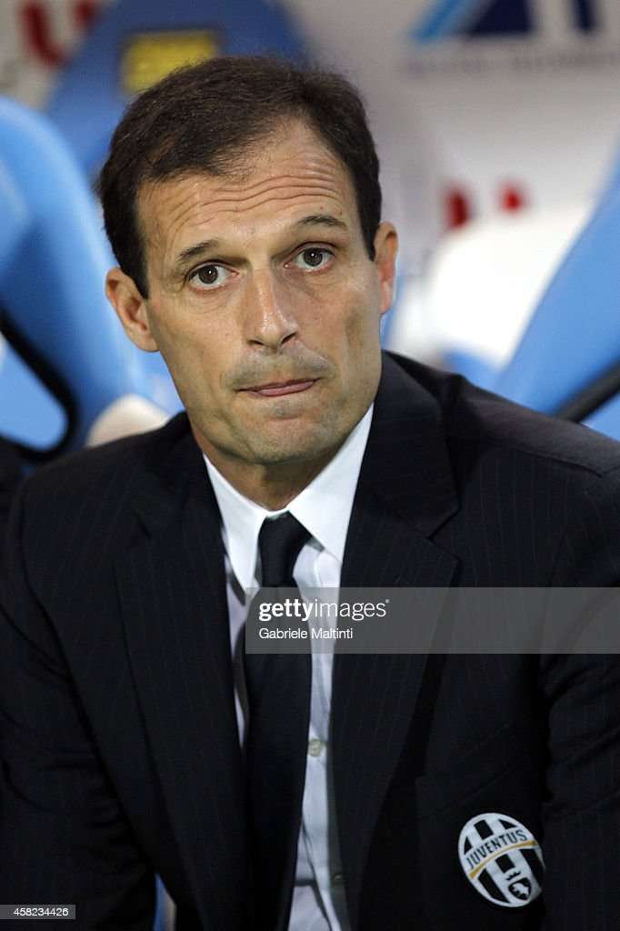 Massimiliano Allegri head coach of Juventus FC looks during the Serie A match between Empoli FC and Juventus FC at Stadio Carlo Castellani on November 1, 2014 in Empoli, Italy.
