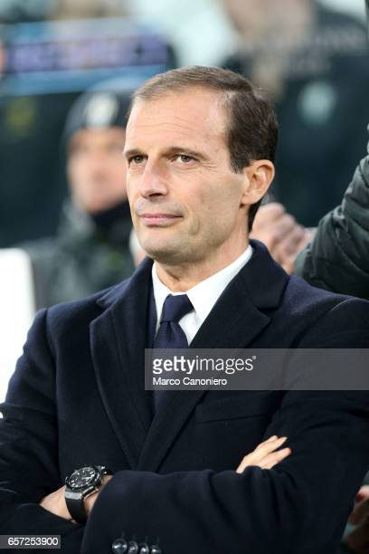 Massimiliano Allegri manager of Juventus during the UEFA Champions League Group H match between Juventus and GNK Dinamo Zagreb Juventus FC won 20...