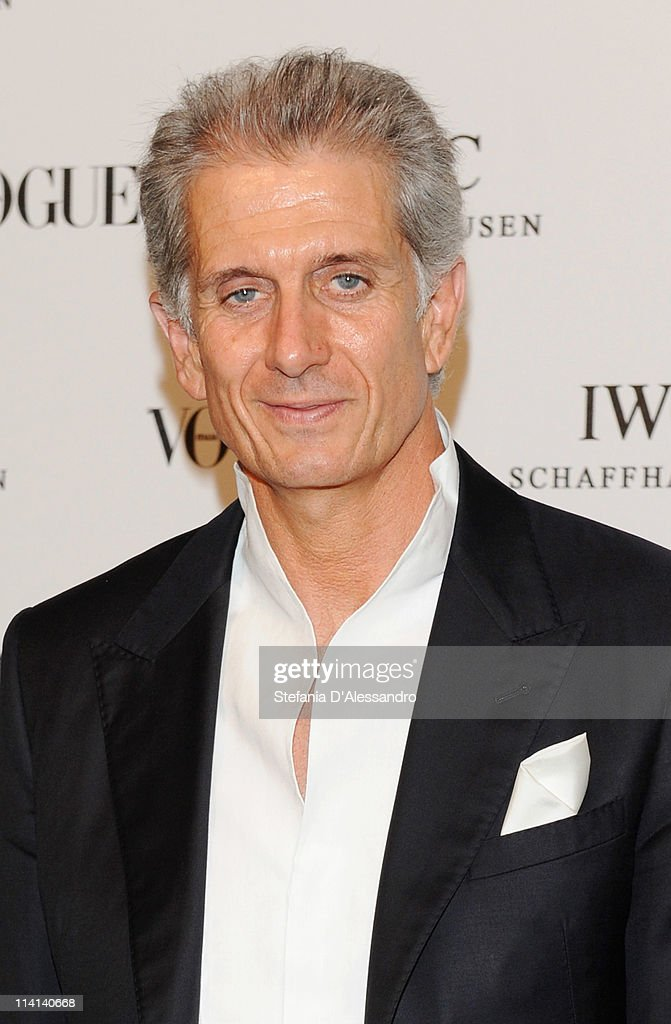 Massimiliano Finazzer Flory attends Vogue and IWC present 'Peter Lindbergh's Portofino' at 10 Corso Como on May 12, 2011 in Milan, Italy.